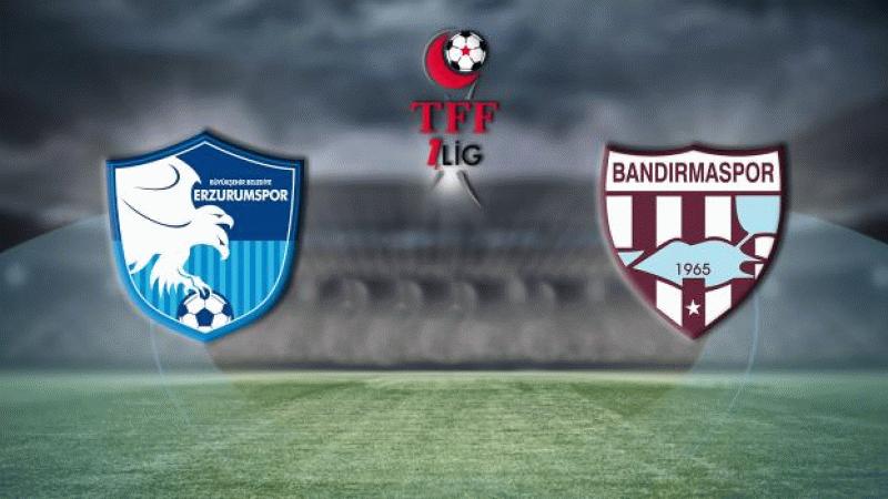 BB Erzurumspor - Bandırmaspor maçı hangi kanalda, saat kaçta?