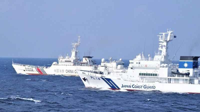 Çin bandıralı 2 gemi, Japonya kara sularına girdi