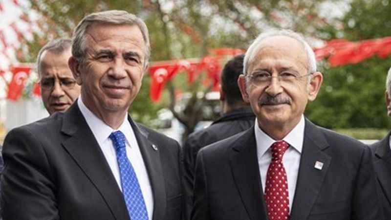 Kılıçdaroğlu'ndan Mansur Yavaş'a destek