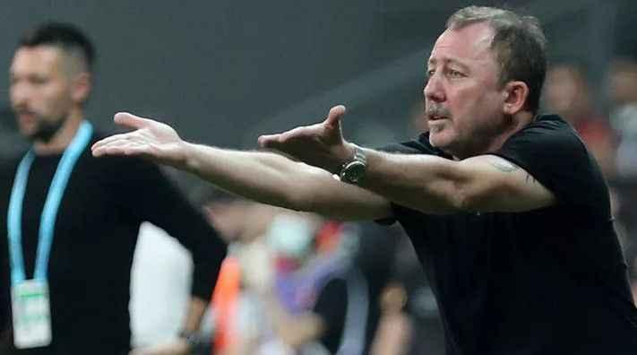 Beşiktaş'ta Sergen Yalçın, Cüneyt Çakır'a yüklendi