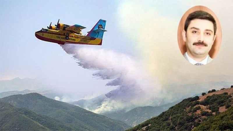 AKP'li Başkan yangına photoshop programıyla müdahale etti