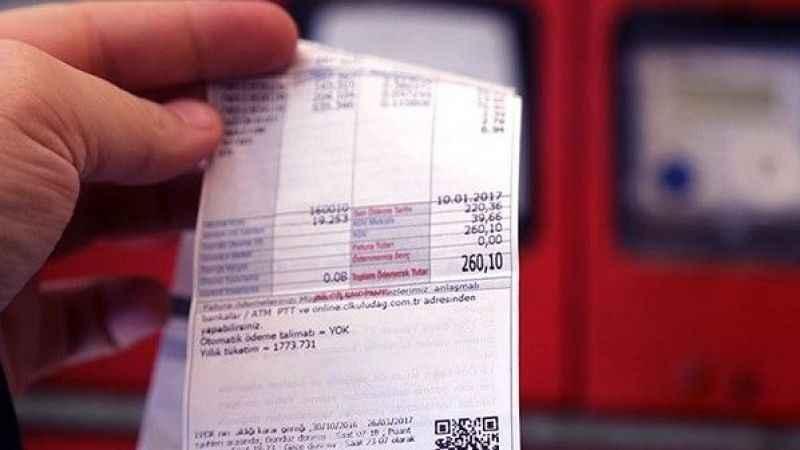 5 ilde elektrik borçlarına erteleme
