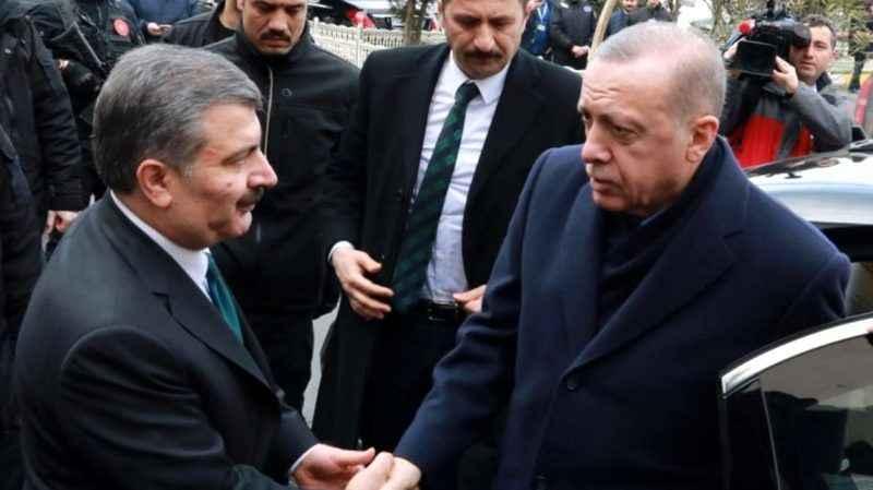 Erdoğan'dan kabinenin ikinci zengin ismi Fahrettin Koca'yı düşündüren soru