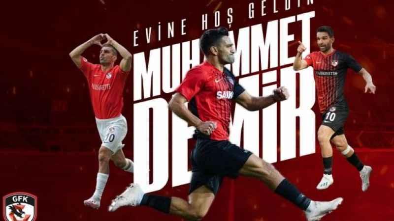 Muhammet Demir, Gaziantep FK'ya imzayı attı