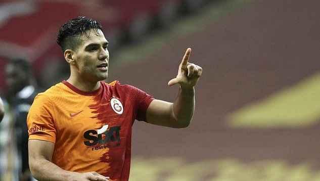Falcao'dan Galatasaray'a duygusal veda mesajı!