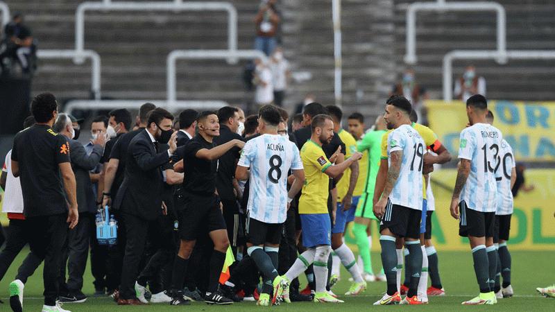 CONMEBOL'den Brezilya-Arjantin maçı açıklaması