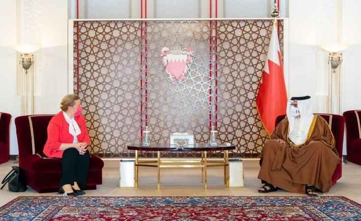 Bahreyn Kralı'ndan Türkiye'ye övgü! İlişkilerimiz ileri düzeyde...
