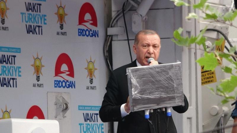 """""""Allah Erdoğan'ı prompterinden ayırmasın"""""""