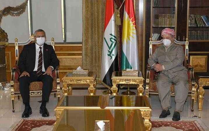 Erbil ve Kerkük'te görüşmelerde bulunan CHP'den ilk açıklama