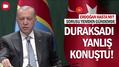 Erdoğan'dan bir düşündüren görüntü daha! Duraksadı yanlış konuştu