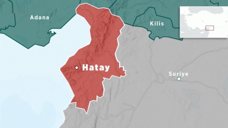 Son Depremler: Hatay'da korkutan deprem!