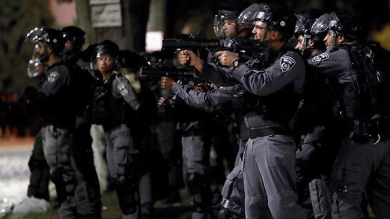 İsrail polisi Filistinlilere saldırdı! Yine gençleri hedef aldı...