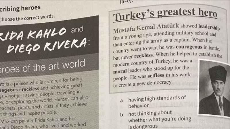 Rum Eğitim Bakanlığı'ndan Atatürk genelgesi! Yırtın atın...