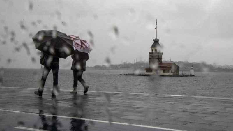 Meteoroloji'den İstanbul dahil çok sayıda ile sağanak yağış uyarısı