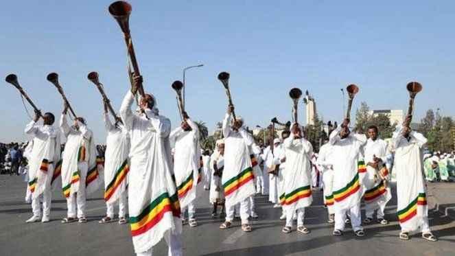 Etiyopya, 2014 yılına girdi! 7 yıl geriden takip ediyorlar...