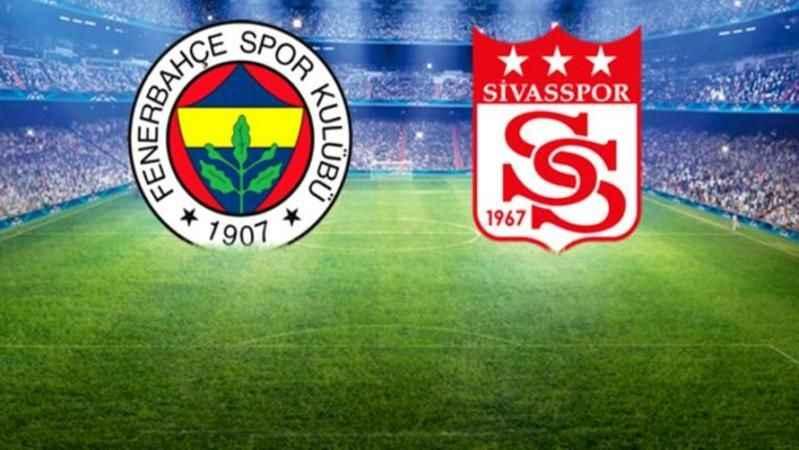 Fenerbahçe - Sivaspor maçı hangi kanalda, ne zaman, saat kaçta?