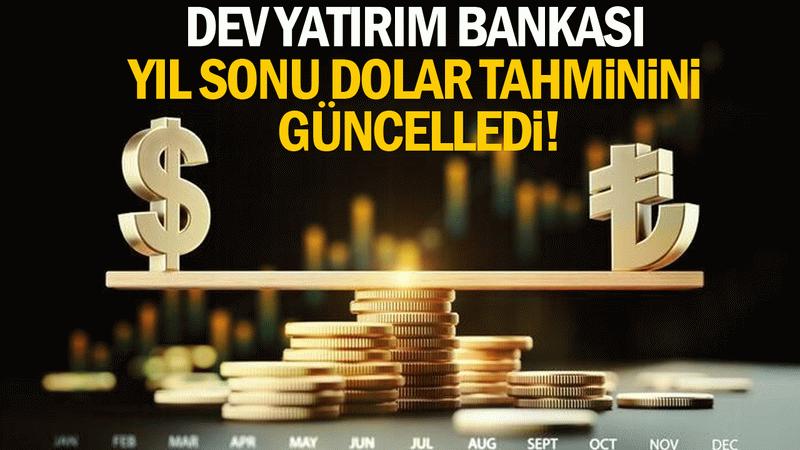 Dünyaca ünlü banka Societe Generale yıl sonu dolar tahminini açıkladı