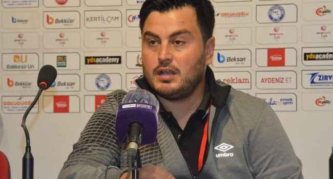 Umut Baysal'dan mağlubiyeti yorumladı, futbolcularına övgüler yağdırdı