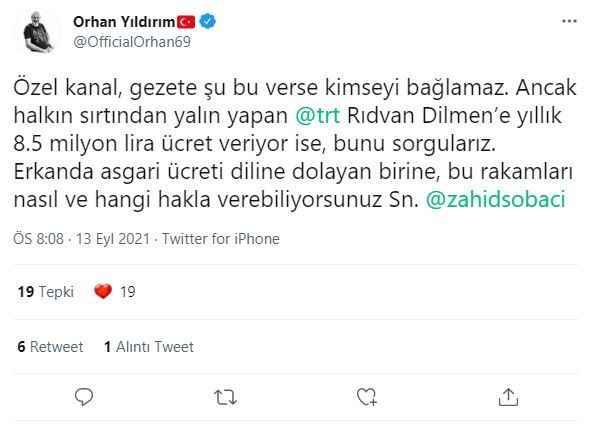 Asgari ücreti 8 bin sanmıştı! İşte Rıdvan Dilmen'in TRT'den aldığı maaş