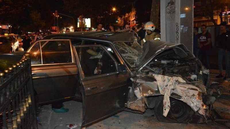İstanbul'da trafik kazası! Bir kişi ağır yaralandı