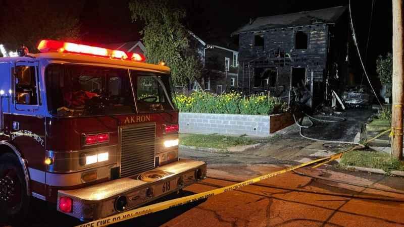 ABD'nin Ohio eyaletinde yangın faciası: 3'ü çocuk 5 kişi öldü