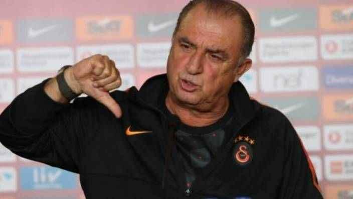 Galatasaray Teknik Direktörü Fatih Terim resti çekti
