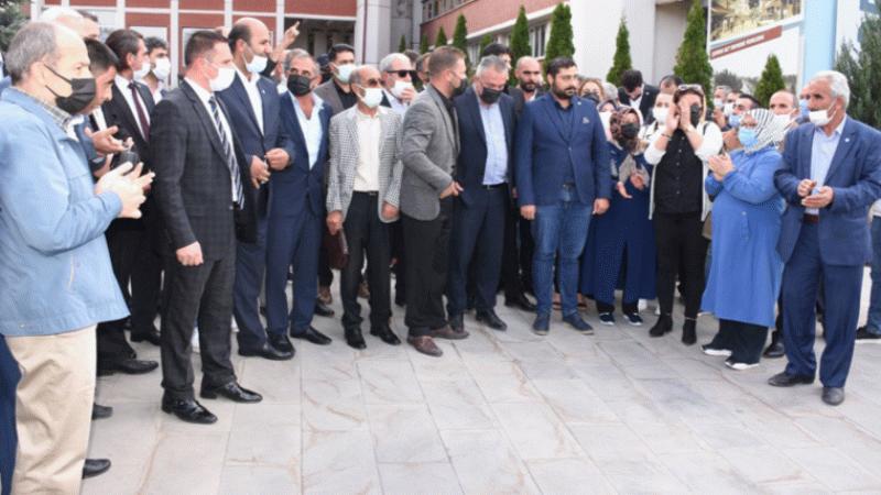 İYİ Parti'den küfreden AK Partili Mehmet Sekmen'e protesto