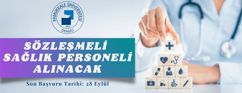 Pamukkale Üniversitesi Sözleşmeli Personel alacak