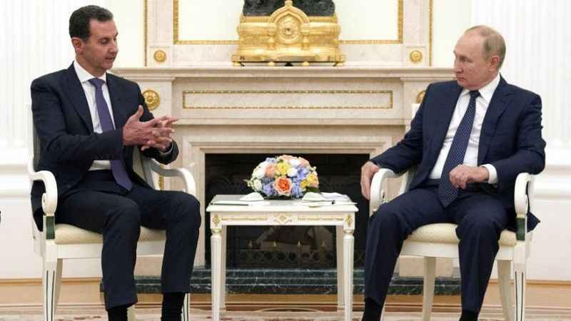Putin, Esad ile yıllar sonra görüştü! Türkiye aleyhinde açıklamalar...