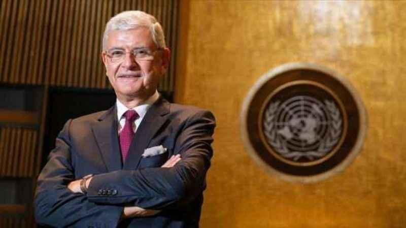 BM Genel Kurulu'nda devir teslim!  Volkan Bozkır bırakıyor...