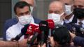 Oğuzhan Asiltürk'ü hastaneye ziyaret eden Karamollaoğlu'ndan açıklama