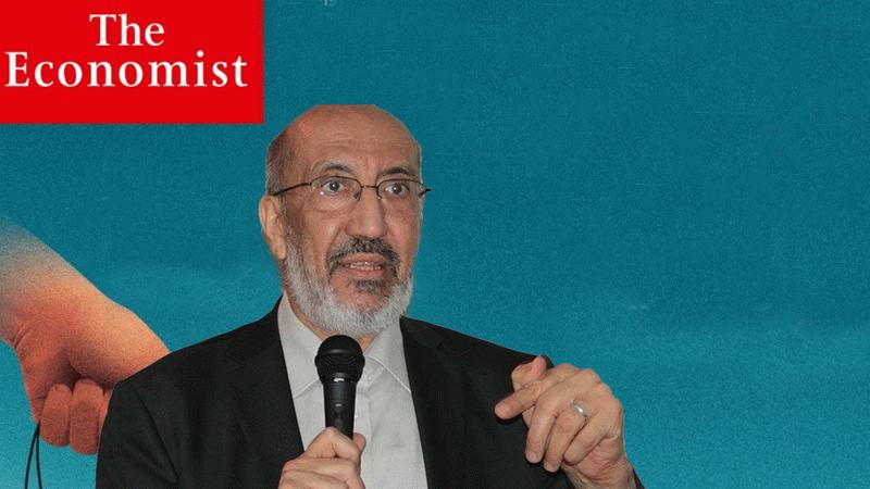 Abdurrahman Dilipak The Economist'in skandal kapağını paylaştı