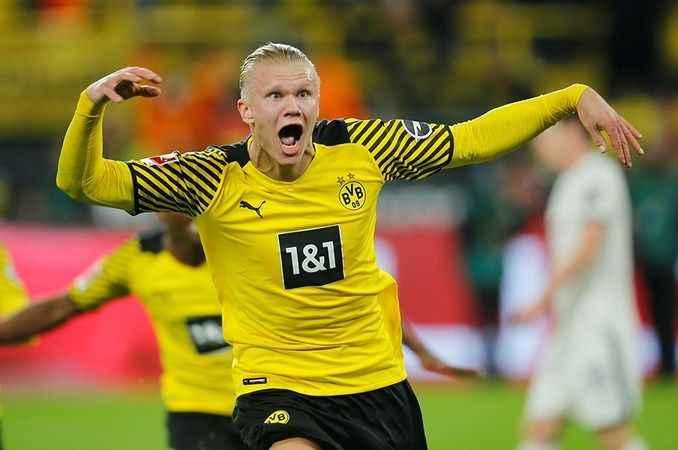 Borussia Dortmund'un yıldızı Haaland Beşiktaş galibiyetini yorumladı
