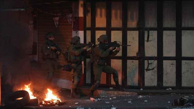 İsrail askerlerinden Batı Şeria'da Filistinlilere saldırı: 4 yaralı