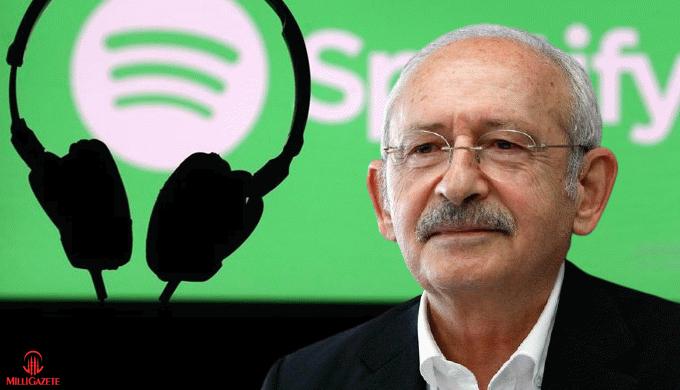 Kemal Kılıçdaroğlu Spotify çalma listesi