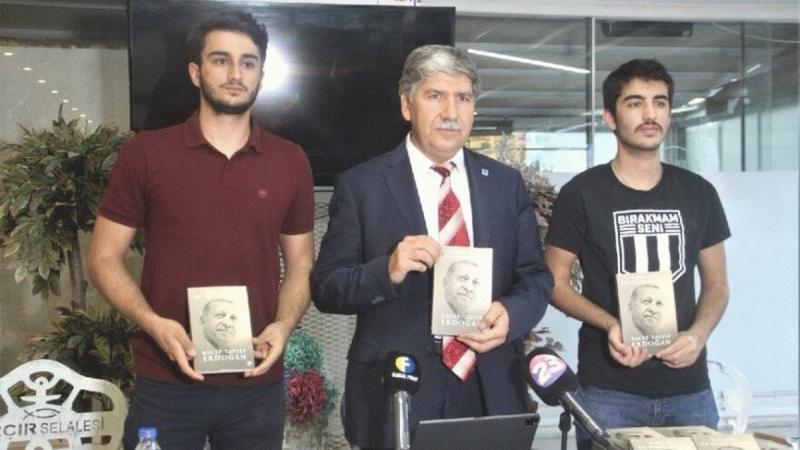 TEİAŞ Bölge Müdürü Erdoğan'ın kitabından 2023 adet ücretsiz dağıttı