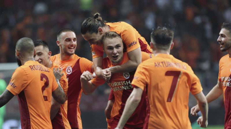 Galatasaray, UEFA Avrupa Ligi'ne galibiyetle başladı
