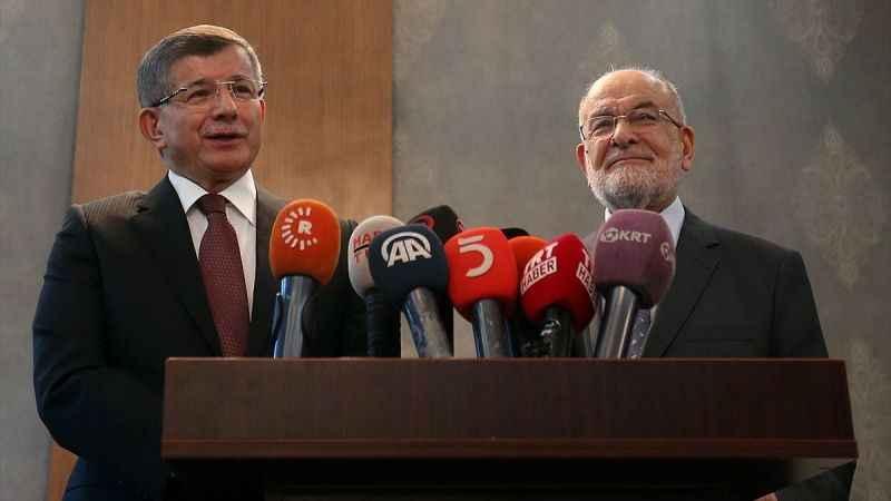 Temel Karamollaoğlu Davutoğlu'nu ziyaret etti! Erken seçim 2022'de