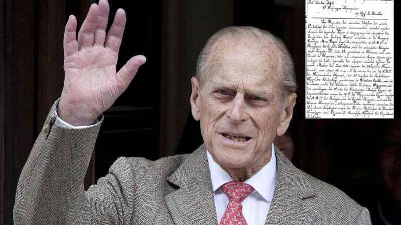 Prens Philip'in vasiyetnamesi 90 yıl gizli kalacak