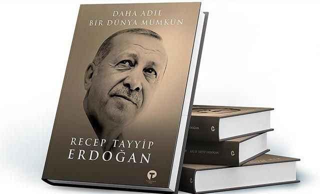 Cumhurbaşkanı Erdoğan kitabını dünya liderlerine verecek