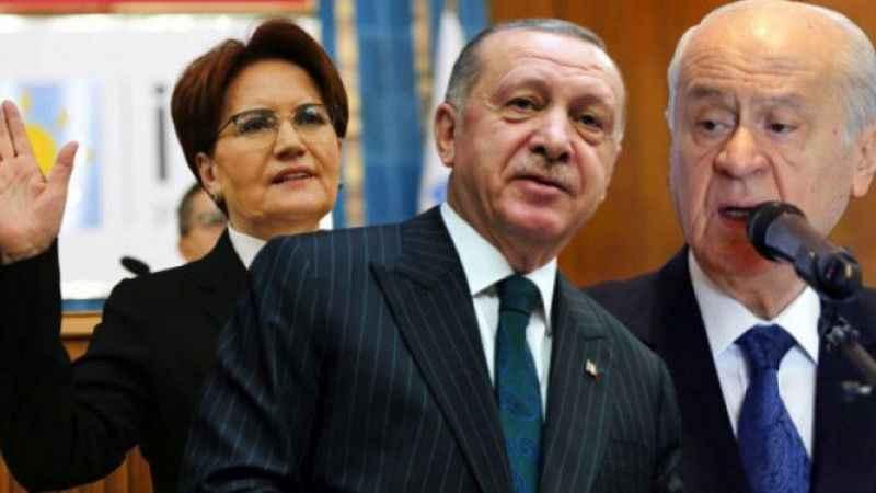 Erdoğan'ın HDP ve Akşener planı ortaya çıktı: Bahçeli olaydan rahatsız