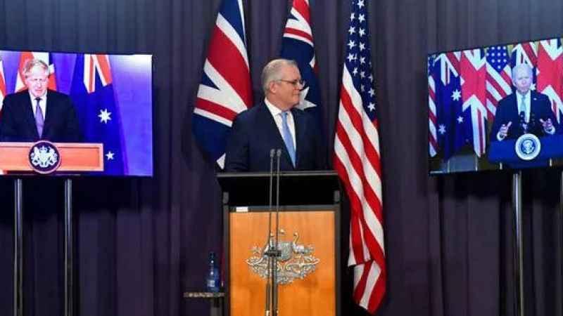 'AUKUS' gerginliği büyüyor! Avustralya'dan Fransa'ya sert yanıt