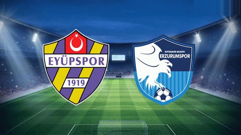Eyüpspor - BB Erzurumspor maçı hangi kanalda ne zaman saat kaçta?