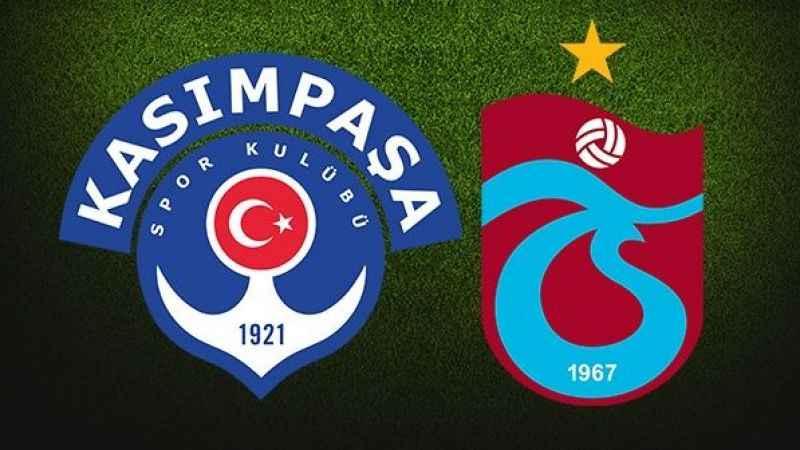 Kasımpaşa - Trabzonspor maçı hangi kanalda ne zaman saat kaçta?