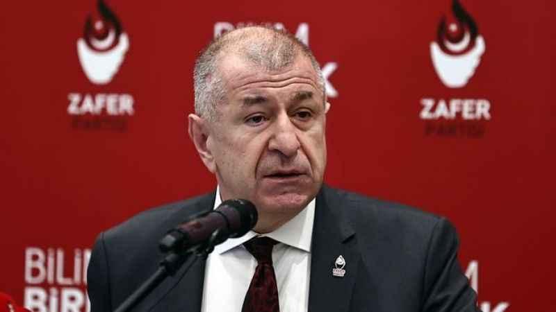 Zafer Partisi Genel Başkanı Özdağ'dan 'ittifak' açıklaması: Kararlıyız