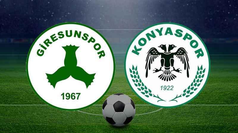 Giresunspor ile Konyaspor maçı hangi kanalda, ne zaman, saat kaçta?