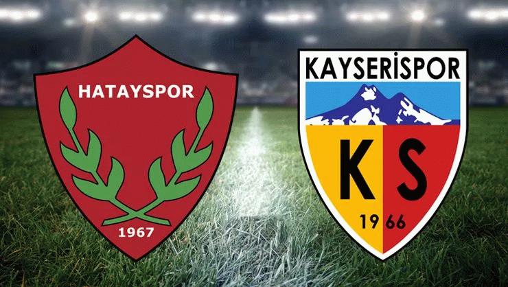 Hatayspor, Kayserispor maçı hangi kanalda, ne zaman, saat kaçta?