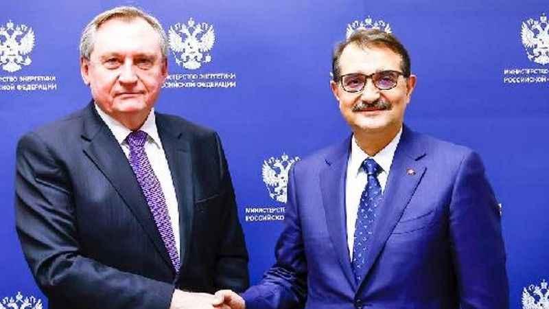Enerji Bakanı Dönmez, Rus mevkidaşıyla görüştü