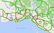 İstanbul trafiği yine kilit! Yüzde 60'a yaklaştı
