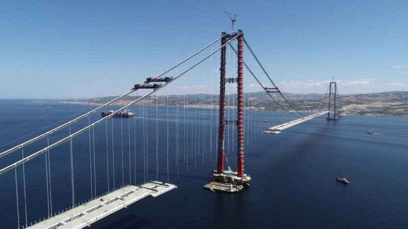 Bakan Karaismailoğlu, Çanakkale Köprüsü'nün geçiş ücretini açıkladı!